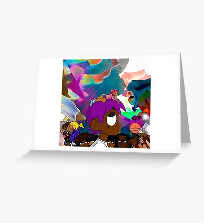 Lil Uzi Vert - Luv Is Rage Greeting Card