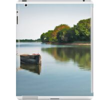 Lonely boat iPad Case/Skin