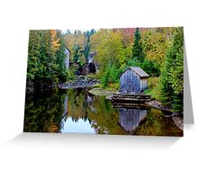 The Sawmill & Gristmill Greeting Card