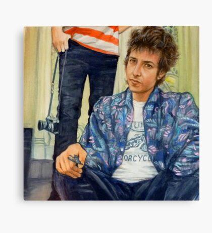 Bob - Highway 61 Canvas Print