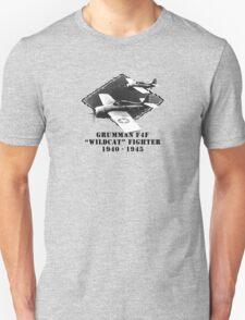 "U.S. Navy - Grumman F4F ""Wildcat"" Fighter  T-Shirt"
