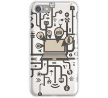 Technics the computer iPhone Case/Skin