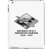 U.S. Navy - Grumman XF4F-3 Prototype Fighter iPad Case/Skin