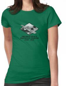 U.S. Navy - Grumman XF4F-3 Prototype Fighter Womens Fitted T-Shirt
