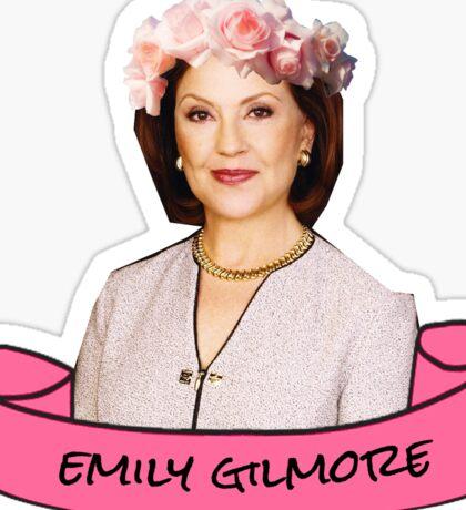 emily gilmore flower crown sticker Sticker