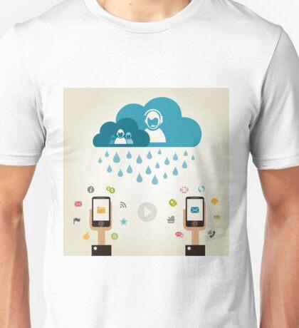 Telecommunication5 Unisex T-Shirt