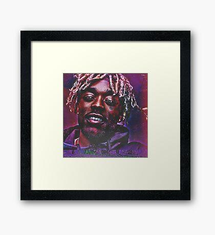 Lil Uzi Vert Framed Print