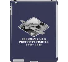 U.S. Navy - Grumman XF4F-3 Prototype Fighter (White) iPad Case/Skin