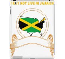 NOT LIVING IN Jamaica But Made Jamaica iPad Case/Skin