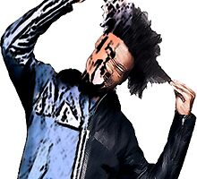 Danny Brown II by Blfc