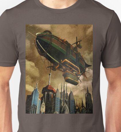 Steampunk Airship 3 Unisex T-Shirt