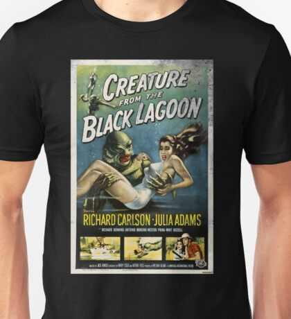 Creature From The Black Lagoon Vintage Poster Unisex T-Shirt