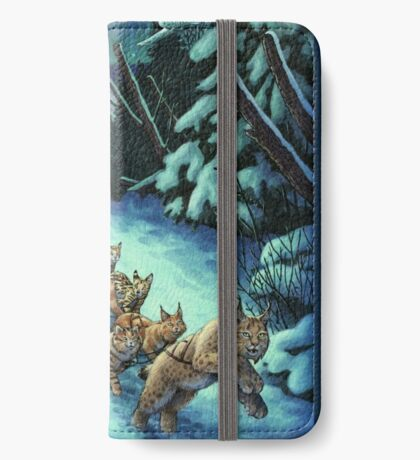 Gilly & the Snowcats iPhone Wallet
