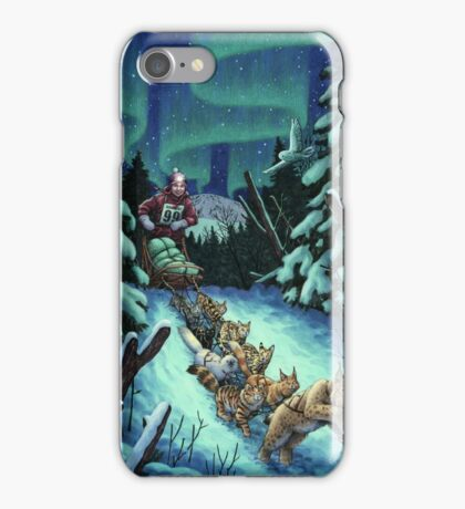 Gilly & the Snowcats iPhone Case/Skin