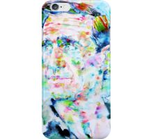 NEAL CASSADY watercolor portrait iPhone Case/Skin