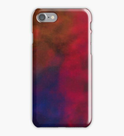 Colorful dust and smoke iPhone Case/Skin