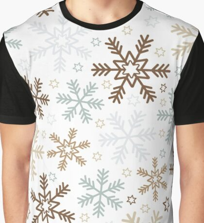 Full of Winter Snowflakes  Graphic T-Shirt