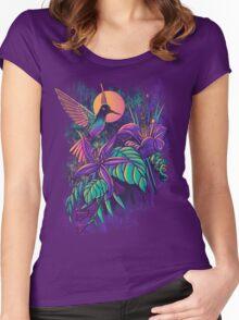 Purple Garden Women's Fitted Scoop T-Shirt