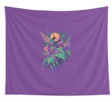 Purple Garden Wall Tapestry