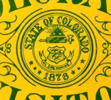 Colorado Visitor Highway Patrol Vintage Decal Sticker