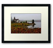 Ingraham House Framed Print