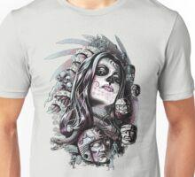Coyolxuahqui Unisex T-Shirt