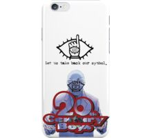 20th Century Boys World in Hands iPhone Case/Skin