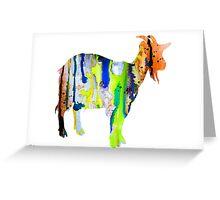 Goat 3 Greeting Card