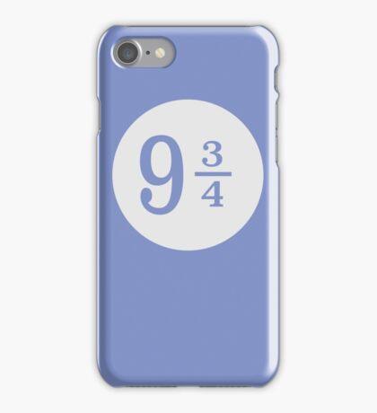 platform nine and three quarters iPhone Case/Skin
