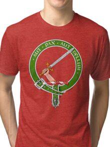 Clan Gunn Scottish Crest Tri-blend T-Shirt