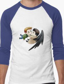 The angel who fell in love Men's Baseball ¾ T-Shirt