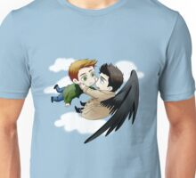 The angel who fell in love Unisex T-Shirt