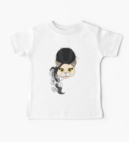 Back to Black Amy Cat Baby Tee