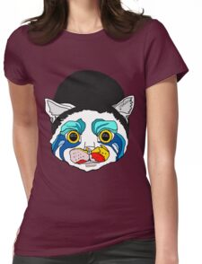 Lady Meow Meow Womens Fitted T-Shirt