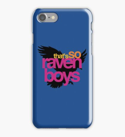 That's So Raven Boys iPhone Case/Skin