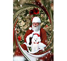 ¸.•*¨ ¸.•*¨ A Christmas Canine Wish Picture -Pillow- Tote Bag  ¸.•*¨ ¸.•*¨ Photographic Print