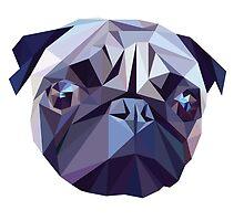 Vector pug by sebjg
