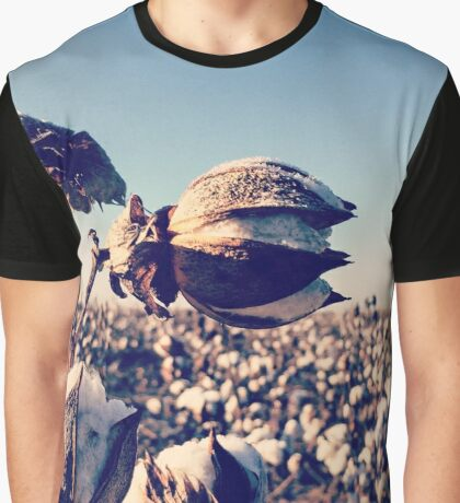 Fields of Cotton Graphic T-Shirt