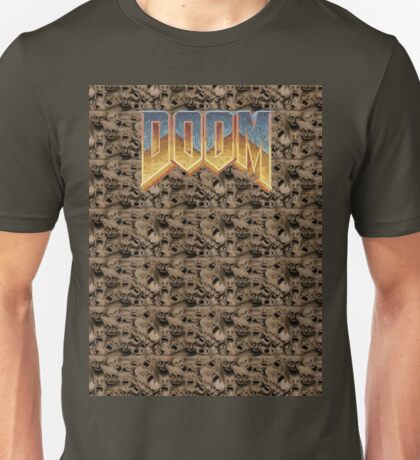DOOM HELL FACES Unisex T-Shirt