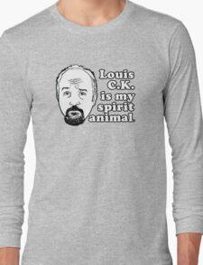 Louis C.K. is my Spirit Animal Long Sleeve T-Shirt