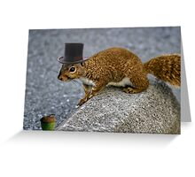 Iv Seen Nuts~ But This Is The Nut 4 Me  Greeting Card