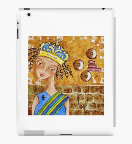 The Crown of Rejoicing iPad Case/Skin