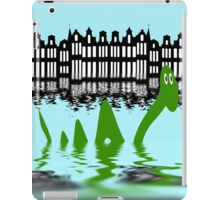 Loch Ness Monster on holiday in Amsterdam iPad Case/Skin