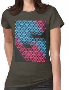 cubetopia Womens Fitted T-Shirt