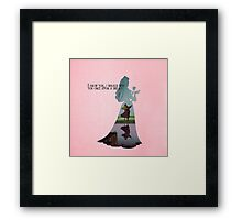 Sleeping Beauty ~ Aurora - Once upon a dream Framed Print