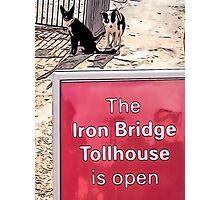 IRONBRIDGE ENGLAND (A) Photographic Print