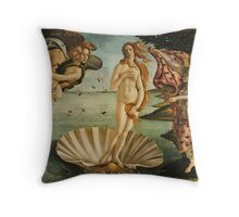 St. Waspe Venus Special Print Throw Pillow