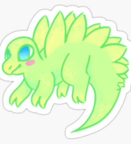 Kawaii Stegosaurus! Sticker