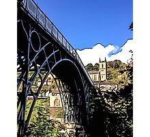 IRONBRIDGE ENGLAND (E) Photographic Print