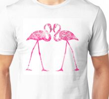 Love Flamingos  Unisex T-Shirt